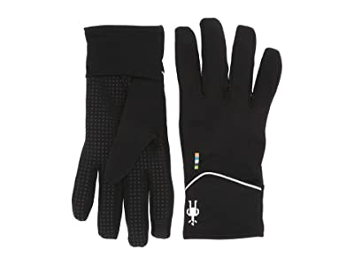 Smartwool Merino Sport Fleece Training Gloves (Black) Extreme Cold Weather Gloves