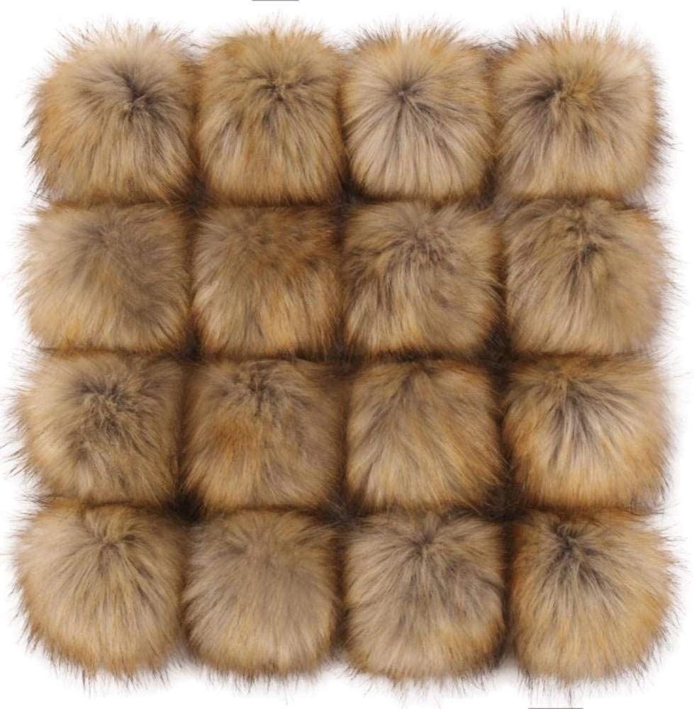 Tengsen 4.7 Inches DIY Faux Fox pom Ball Fluffy for Hats Fur Shipping included Rare