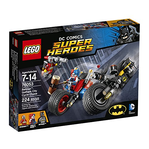 LEGO Super Heroes BatmanTM: Gotham City Cycle Chase 76053 by LEGO
