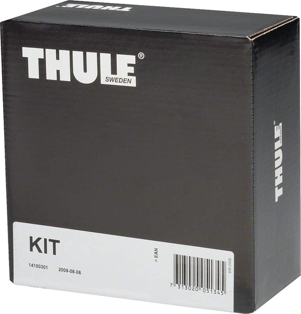 One Size Thule 145066 Roof Racks Black