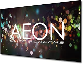 Elite Screens Aeon Series, 120-inch 16:9, 8K / 4K Ultra HD Home Theater Fixed Frame EDGE FREE Borderless Projector Screen, CineGrey Matte Grey Front Projection Screen, AR120H2