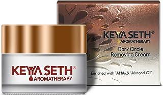 Keya Seth Aromatherapy Dark Circle Removing Under Eye Cream – Vitamin C, Niacinamide, Alpha Arbutin & AHA Reduces Wrinkle...