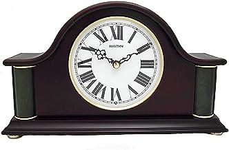 Rhythm CRH219NR06 Real Rhythm Symphony Rrs Clock, Brown