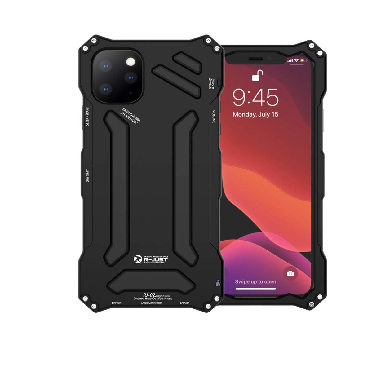 R JUST Shockproof Dropproof Protection Mechanical