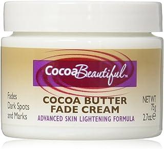 Cocoa Beautiful Cocoa Butter Fade Cream, Advanced Skin Lightening Formula | 2.7 Ounces (Pack of 2)