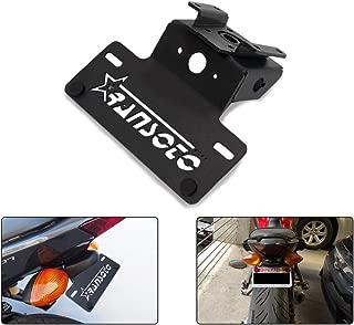 Motorcycle Fender Eliminator license plate mount Fit for Yamaha MT07 FZ07 MT-07 FZ-07 2015-2019 (Black)