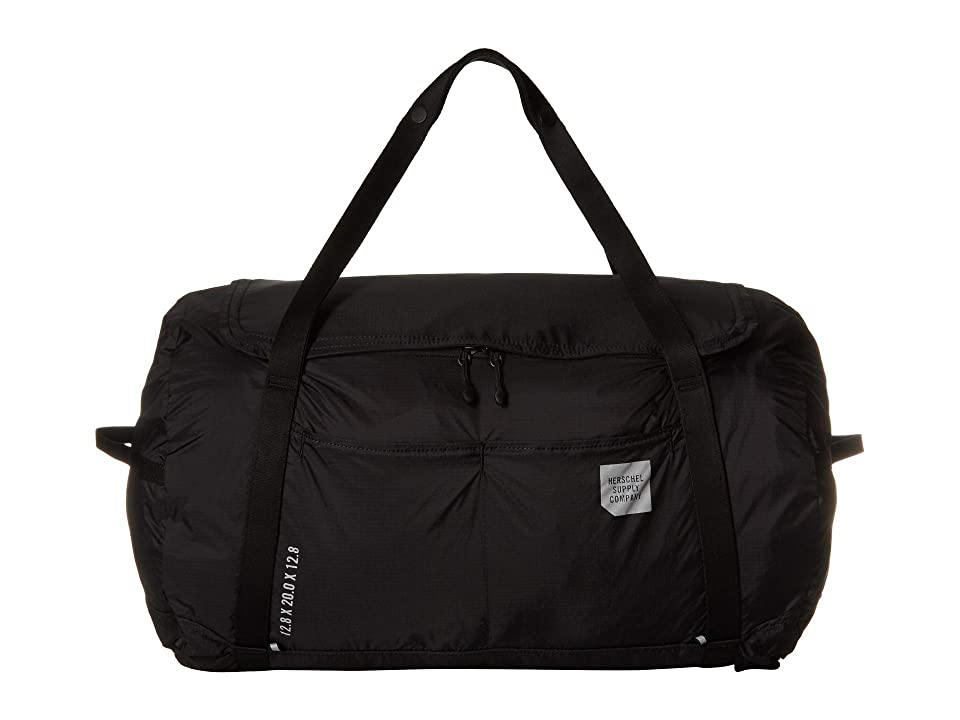 Herschel Supply Co. Ultralight Duffel (Black) Duffel Bags