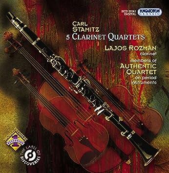 Stamitz, C.: Clarinet Quartets, Opp. 14, 19