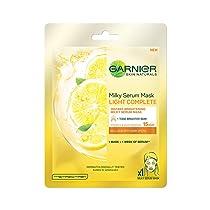 Garnier Skin Naturals, Light Complete, Face Serum Sheet Mask (Yellow, 28g)