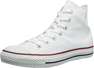 Converse Unisex Chuck Taylor All Star High Top Sneakers Optical White Size 6 Mens/8 Womens