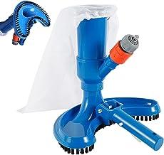 You's Auto - Aspirador de piscina con cabezal de aspiración de limpieza rápida portátil con cepillo y empalme de tubo, aspirador, accesorios de limpieza para spa estanque, piscina, fontain