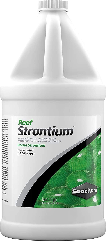 Reef Strontium 4 Very popular! Sale price L gal. fl. 1