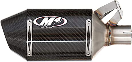 06-16 YAMAHA YZF-R6: M4 Street Slayer Slip-On Exhaust - Carbon (CARBON FIBER)