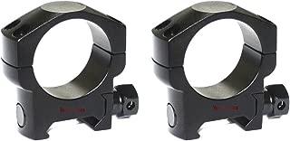 Tactical 30mm Low Weaver Mount Ring Color Black