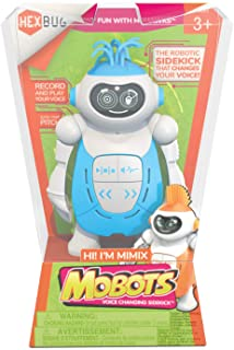 HEXBUG 431-6844 MoBots Mimix Recording and Talking Robot Kit with Sound and Flexible Body Smart Interactive Educational To...