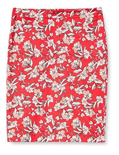 Taifun Womens 510007-11020 Skirt, Paradise Pink Gemustert, 40