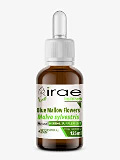 Blue Mallow Flowers Malva sylvestris 1:2 25% Alc Liquid Herb 125ml