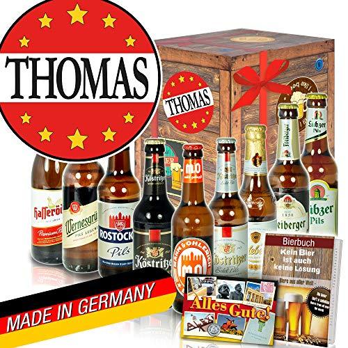 Thomas - Geschenke Thomas Geburtstag - Ostdeutsche Biersorten