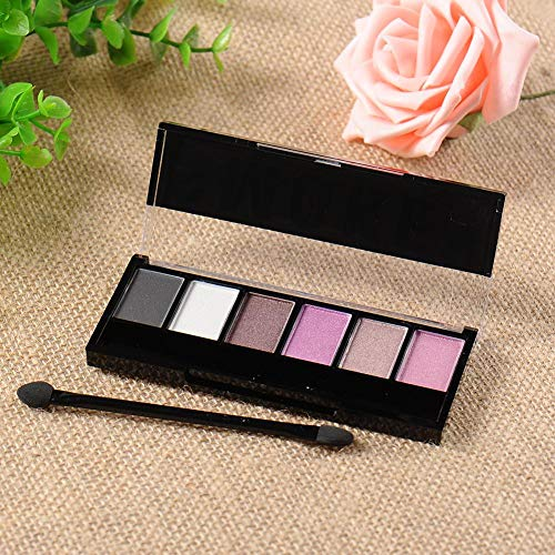 tulipde Beste Lidschatten Palette Nudetöne - Vegane Augenpalette - Eyeshadow Make Up Kosmetik - 6...