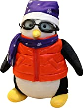 Amaae® Penguins stuffed animals Soft and Cuddly Penguins Plush Animals Toy 18.9 inchs (Material:Cloth ;Color:Red)