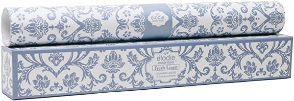 Elodie Essentials Scented Drawer Liners Royal Damask Fresh Linen