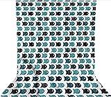 Fondo de estudio fotográfico de 3 x 3,6 m, rombos con cuadrados de microfibra de tela de forro polar, con bolsillo para barra (solo telón de fondo) para fiestas temáticas