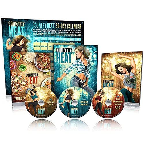 Dance Workout DVD Base kit Compatible with Country Heat fans