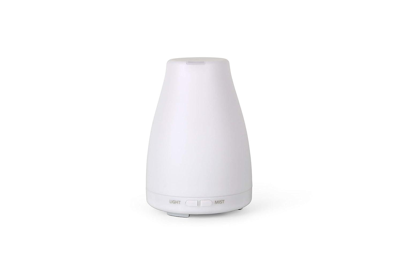 特異なマイル責めるアロマディフューザーGA101-W 加湿器 日本語取扱説明書 超音波式 7色LEDライト 空焚き防止