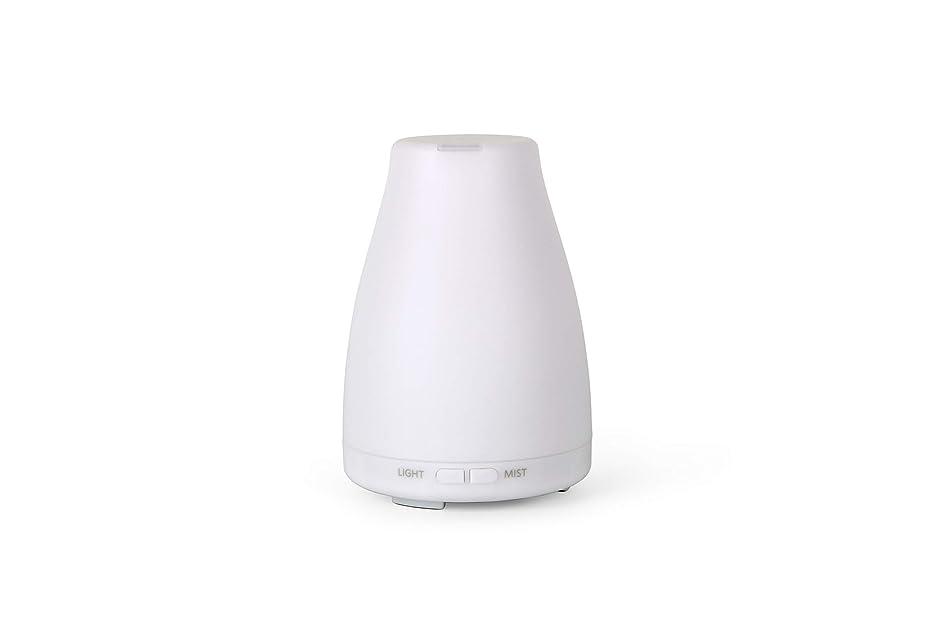 不名誉な同志記者アロマディフューザーGA101-W 加湿器 日本語取扱説明書 超音波式 7色LEDライト 空焚き防止