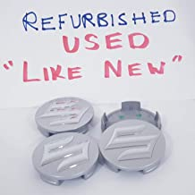 Used Refurbished 54Mm Hub Cap Wheel Swift Sport Sx4 Alloy 43252-63J10-Cz2 Centre Covers Chrome Logo [1 Set of 4 Pieces][7165][TOTUMY]