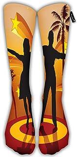 Calcetines de Compresión España Bailarines Calcetines Casuales