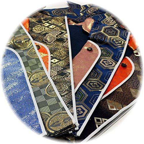 『えくぼちゃん(ekubochan)日本製 京都伝統金襴 陣羽織 (は柄)』の4枚目の画像