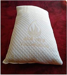 Relax Almohada VISCOELASTICA 100% Copos Y Fibra,Aloe Vera de 150 CM.