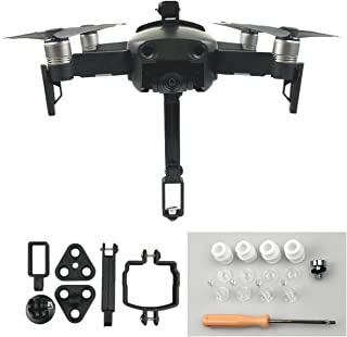 Flycoo Soporte de Montaje para Action Camera 360 Adaptador de la cámara de fijación para dji Mavic Air Drone Kit de Accesorio de Control Remoto Shockproof Shock Absorber Drone