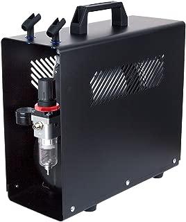 Compresor de aerógrafo Fengda FD-186A con calderín/ORIGINAL FENGDA/regulador de presión / 3L / 4 bar/parada automática