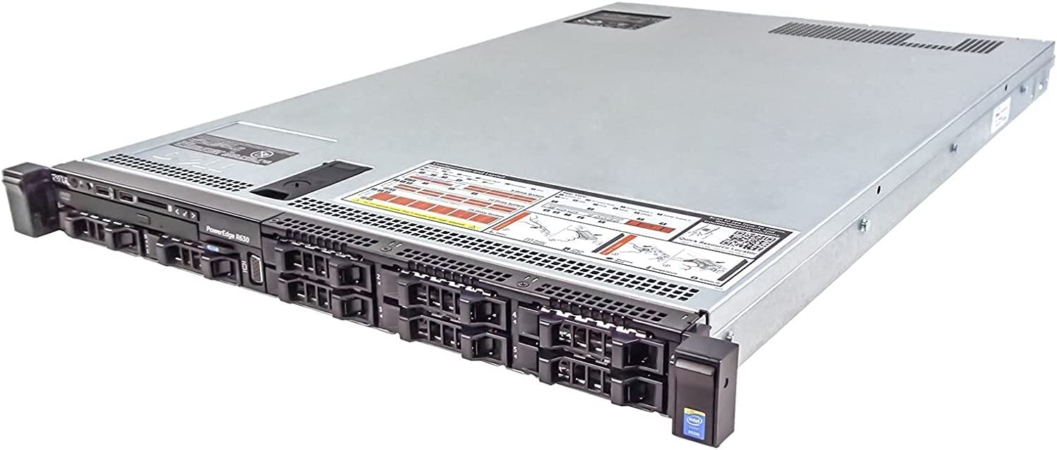 Dell PowerEdge R630 Server 2X E5-2620 Today's only RA 128GB 5% OFF = v3 12 Cores
