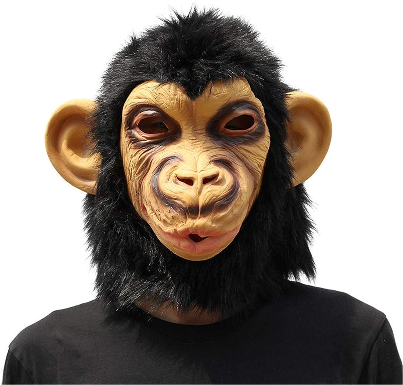 Orang-UTAN Maske Halloween Dekoration Kostüm Maske Cosplay Vollen Kopf Maske Latex Feuer Wolf B07GZJ68SG  Berühmter Laden   | Verschiedene
