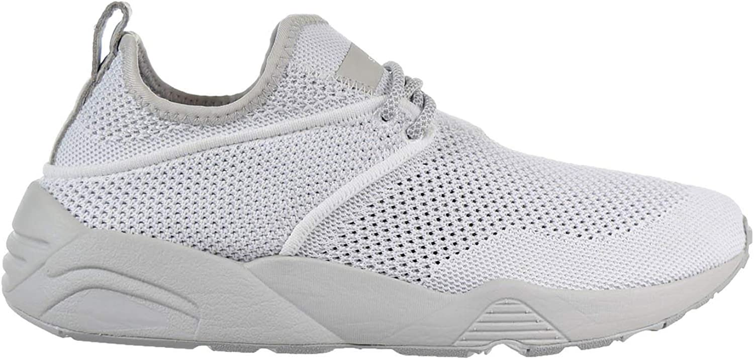 Puma X Stampd Trinomic Woven Mens White Textile Athletic Running shoes
