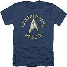 Star Trek The Original Sci-Fi TV Series Retro U.S.S Enterprise Adult HA T-Shirt