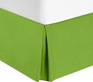 Best lime green bed skirt full Reviews