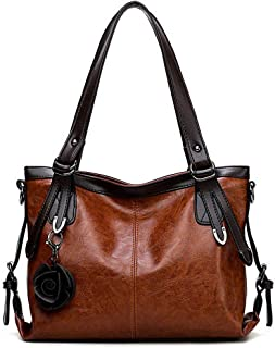 VogueZone009 Women's Bags Pu Casual Flowers Tote Bags,CCABO208471
