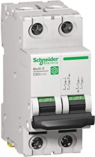 Schneider Electric Miniature Circuit Breaker, 3 Amps, Number of Poles: 2, Not Rated AC Voltage Rating