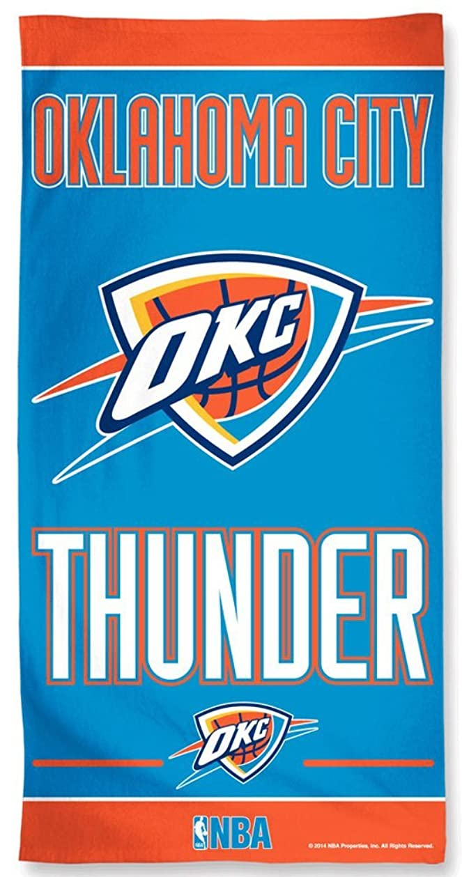 ガジュマル作詞家つぶすOklahoma City Thunder NBA OKC 80cm X 150cm Beach Towel