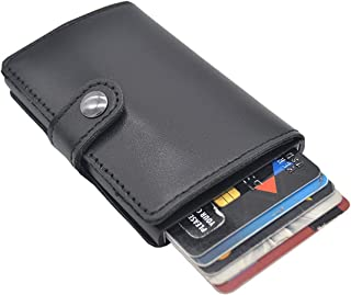 WESTLINK Black Leather For Unisex - Card & ID Cases