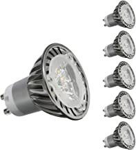CY LED 3W MR16 GU10 LED Bulbs, 35W Halogen Bulbs Equivalent, 350lm,Cool White Dimmable, 6000K, 45°Beam Angle, Recessed Lig...