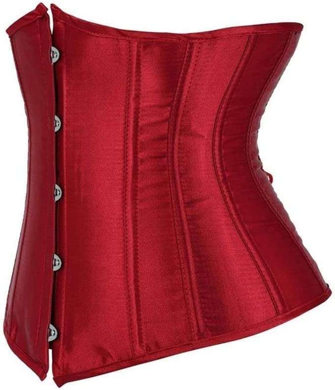 Linyuex Corset Gothic Underbust and Bustiers Los Angeles Popularity Mall Wo Waist Top