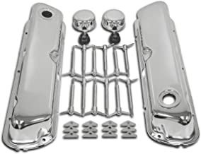 Fits 1962-1985 Ford Small Block Chrome Steel Engine Dress Up Kit Smooth