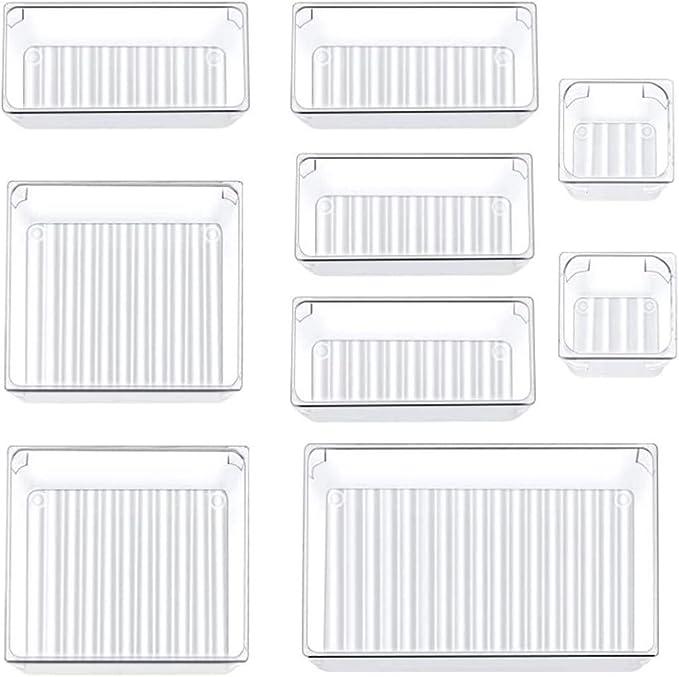 347 opinioni per Siundam Organizer Cassetti Set di 9 Organizer Make Up Cassetti Impilabili per