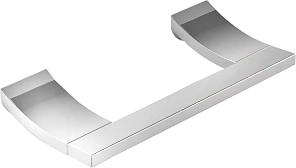 Newport Brass 37 28 8 1 8 Double Post Toilet Paper Holder From The Secant Colle Polished Chrome