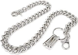 matte black wallet chain